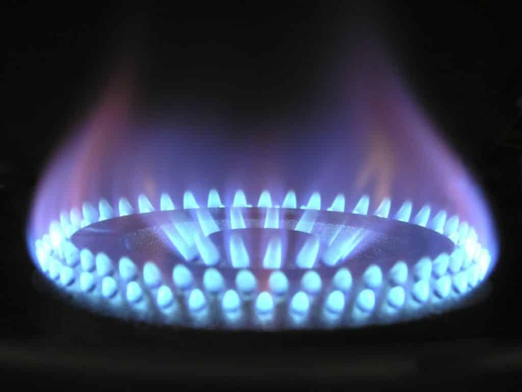 Gas zum Kochen